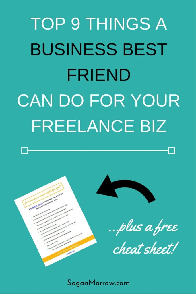 Want to take your freelance business to the next level? You need a business best friend! Find out what a business bestie can do for your business, PLUS get a free cheat sheet to find out if hiring a business coach for your freelance biz is right for you, in this article.