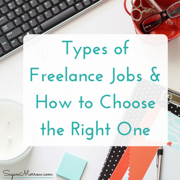 types of freelance jobs