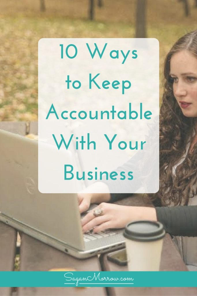 Want to FINALLY move forward with your freelance business? Discover the top 10 ways to keep accountable with your business in this article! You'll get valuable tips to help you stay accountable as a small business owner and continue making progress over time. Click on over to get the accountability tips for freelancers now!