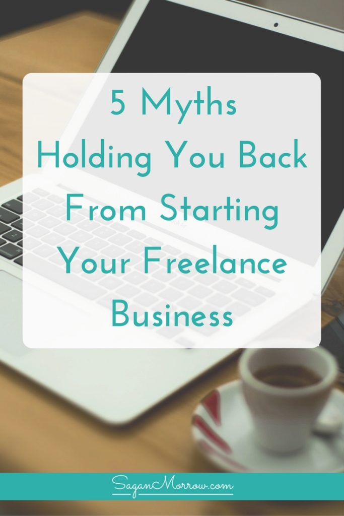 We're debunking 5 common myths about freelancing in this freelance tips article! Learn why believing these myths has held you back from starting a freelance business... and what you can do to get past these myths and be well on your way to building your successful, profitable business. Click on over to read the article now!