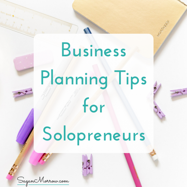 business planning tips for solopreneurs