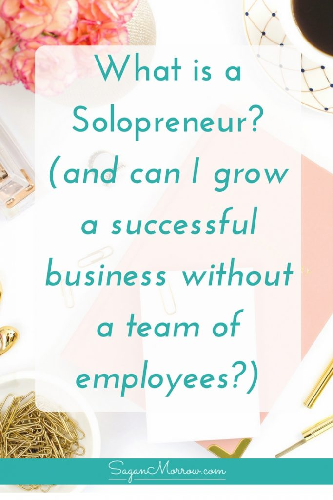 What is a solopreneur? Learn the definition of a solopreneur (and what a solopreneur vs entrepreneur is), and find out the truth about growing a successful business without a team of employees. Click on over to get the scoop now! ::: solopreneur tips ::: home-based business tips ::: how to be a solopreneur
