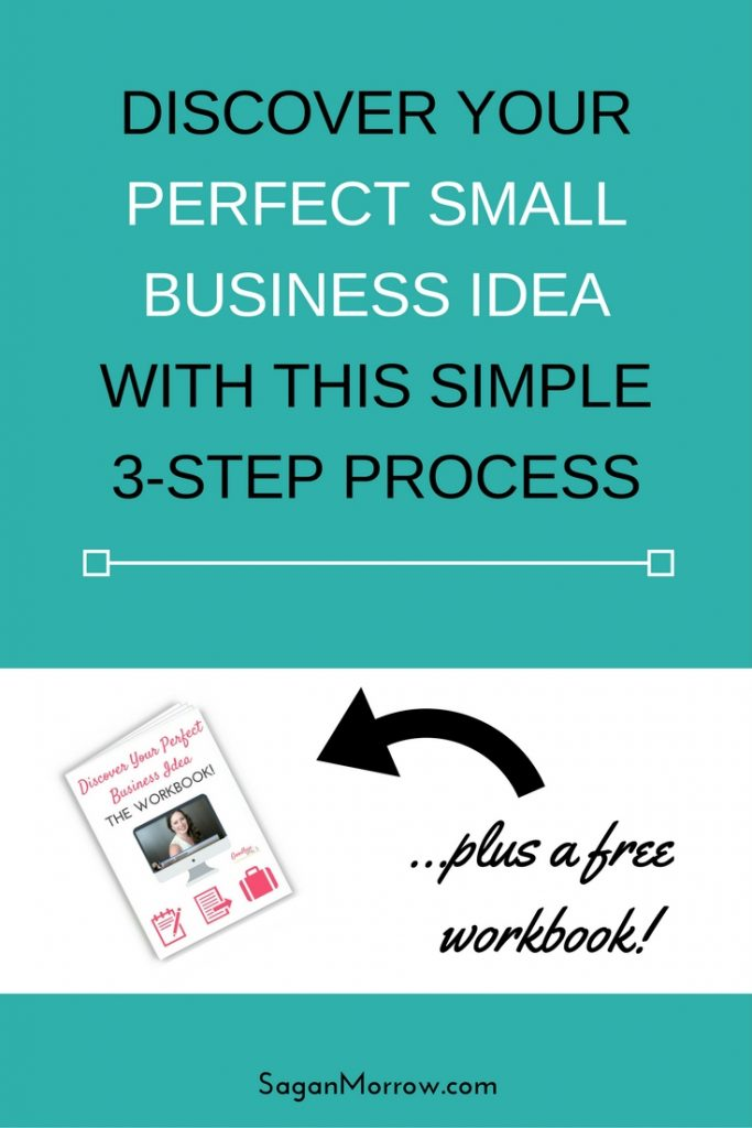 Get the FREE workbook plus a 3-step process for how to come up with your perfect (and profitable!) home-based business idea. Click on over to discover your profitable small business idea today!