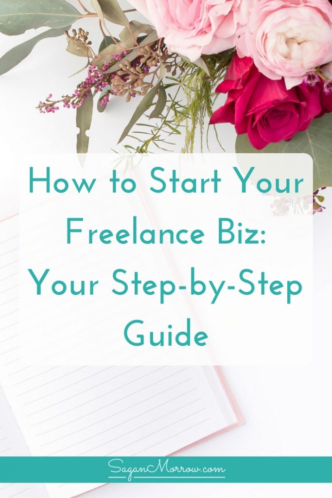 Learn how to start a freelance business with this step-by-step guide! In just 7 steps, you'll get exactly what you need to get starting with building you awesome freelance business. Click on over to get the goods now!
