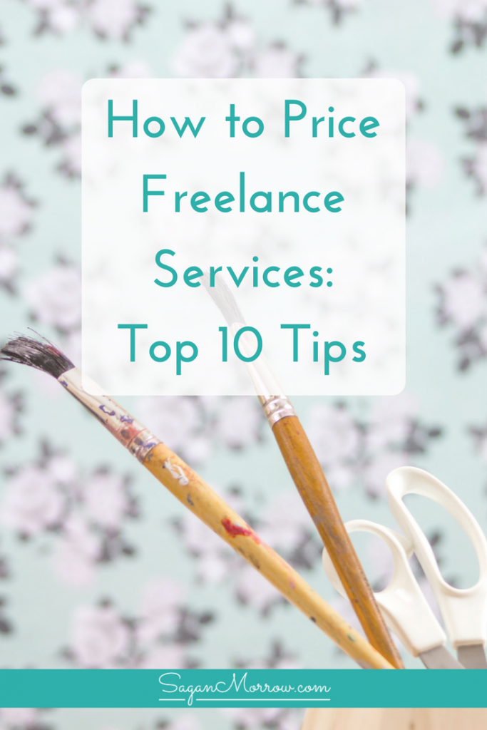 Find out how to price freelance services in this freelance tips article -- we're breaking it down and answering your top 10 questions about setting rates for freelance services! Click on over to get the goods (plus a pricing strategy worksheet)