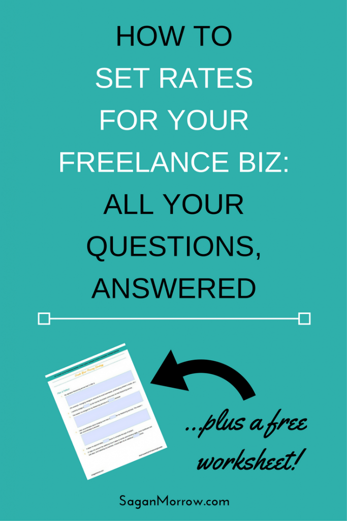 Get all the behind-the-scenes details on exactly how to price freelance services and set rates for your freelance business... plus grab the pricing strategy worksheet so you can start getting paid what you're worth!