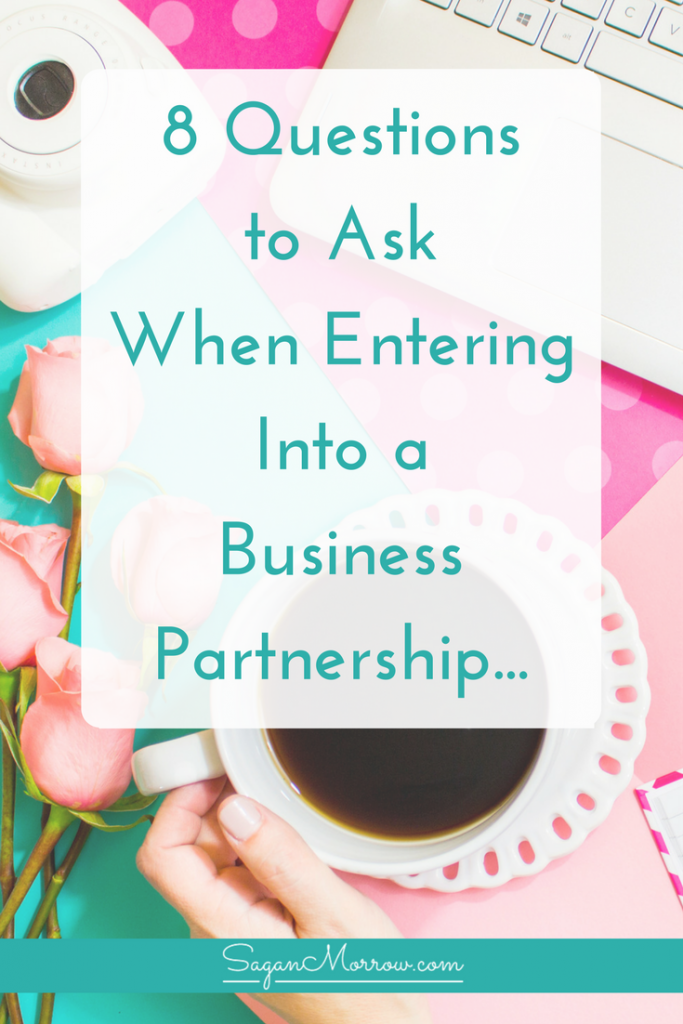 Discover the top 8 things to consider when entering into a business partnership in this small business tips article! You'll learn the questions you NEED to ask if you're thinking about going into business with someone else...