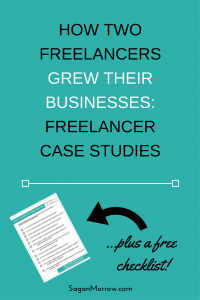 Get the behind-the-scenes scoop of what these 2 freelancers did to start and grow their freelance businesses -- click on over to read the freelancer case studies now!