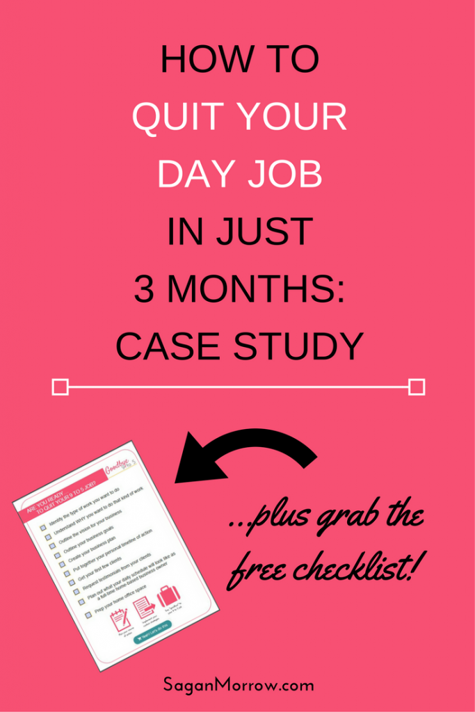 Get the inside scoop on how this teacher quit her day job and began working from home full-time as a blogger/virtual assistant... within 3 months! Want to learn how YOU can do it, too? Click on over to find out how to quit your day job in 90 days...