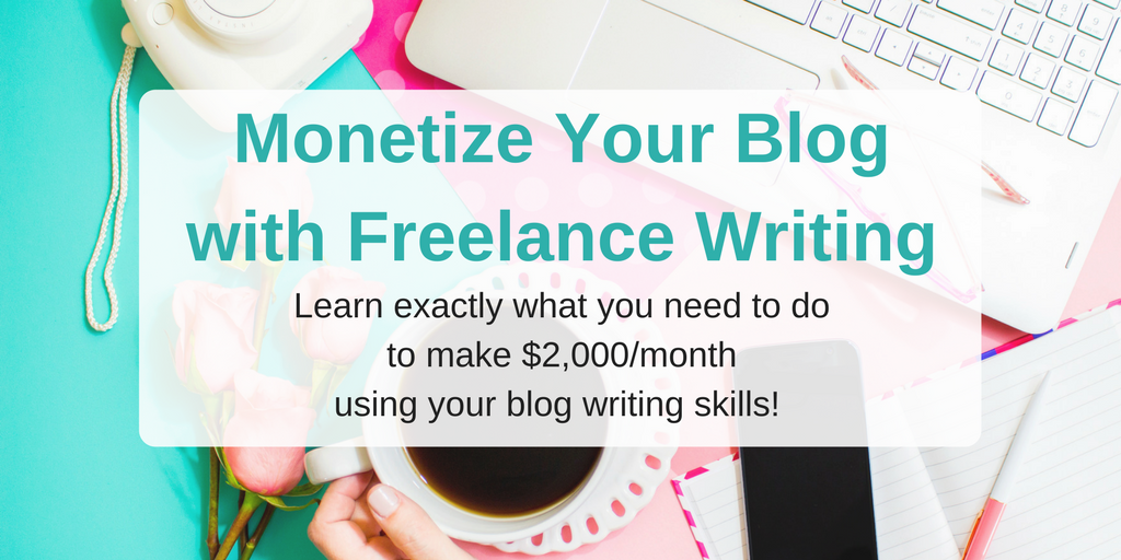 monetize your blog header