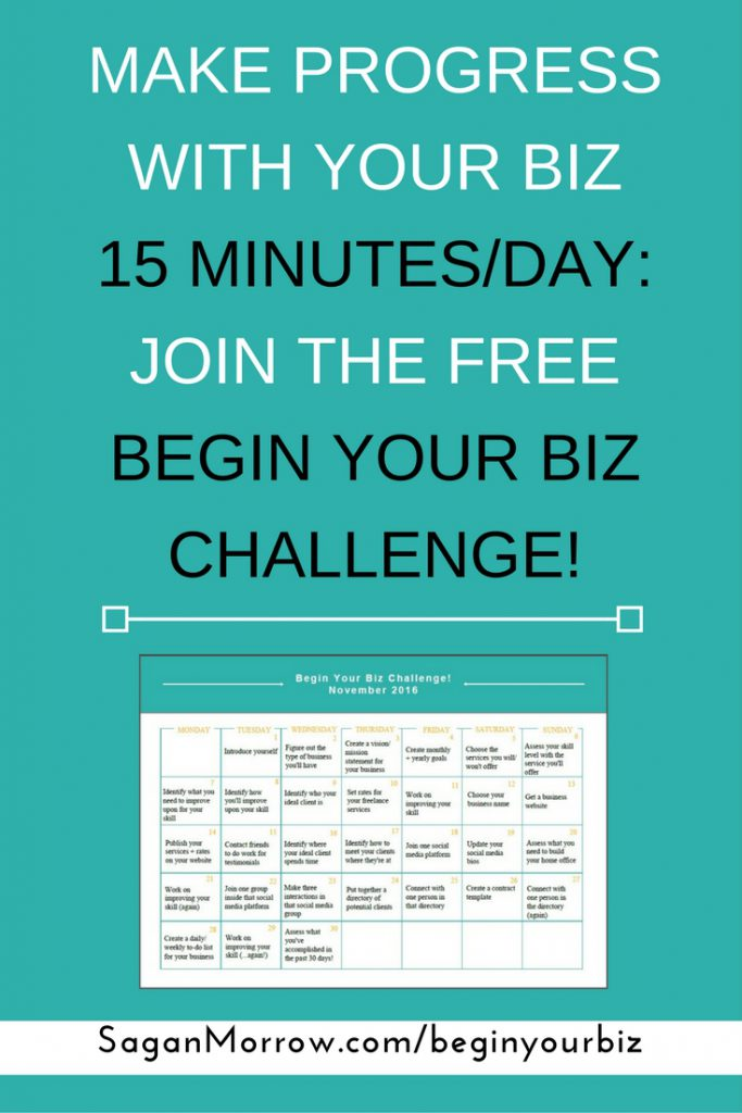 Taking place inside a Facebook community group with like-minded small business owners, you'll get daily 15-minute action steps you can take to keep moving your business forward, even when you feel overwhelmed with what you should spend your time working on.Read More »