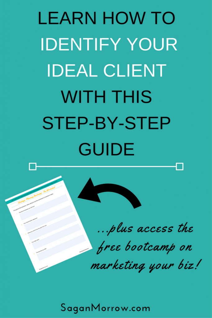 Learn what you need to know for identifying your ideal client in this step-by-step guide! Plus, find out what identifying your ideal client MATTERS for every type of business. Click on over to get the scoop now...