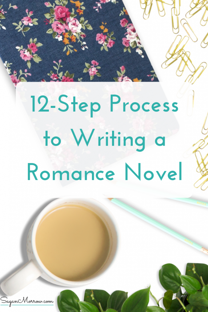 Learn a 12-step process for how to write romance novels in this blog post that guides you, every stage along the way! This romance novel writing process can be applied to make your writing process that much easier, and ensure that you finally get your ideas on paper... and to the market. Click on over to get the scoop!
