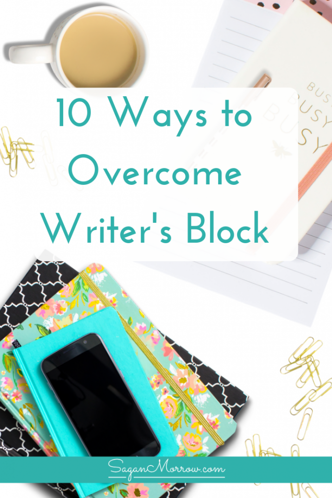 Are you struggling to overcome writer's block? Learn how to overcome writer's block, whether you're a freelance writer or a book author, with these 10 practical ideas! You'll get past the writer's block and be inspired to write again in no time. Click on over to check it out now...