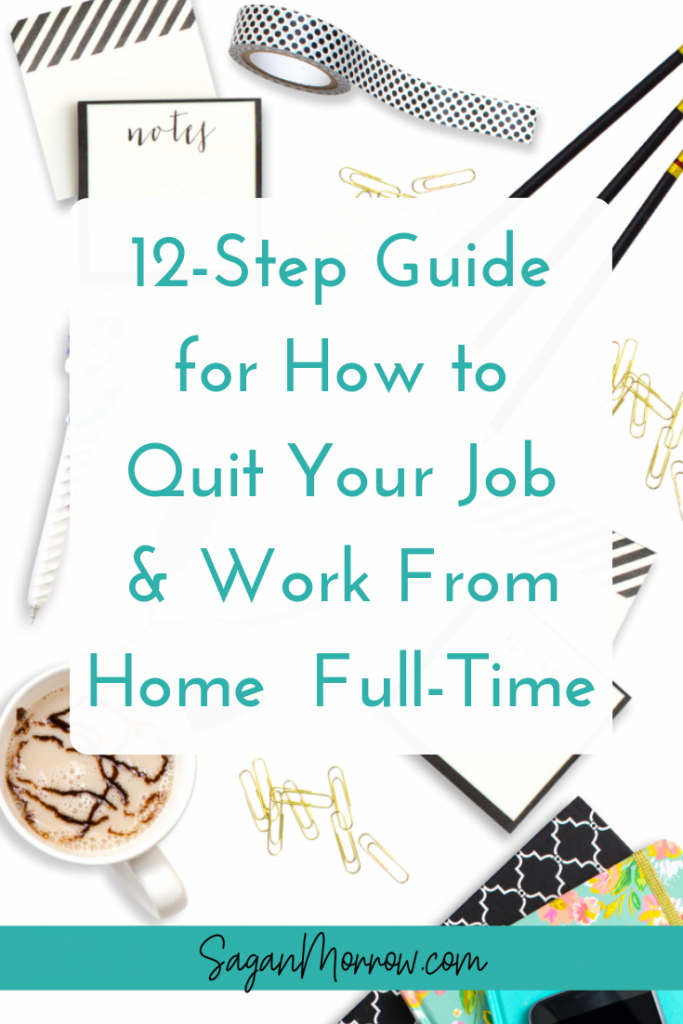 Learn how to FINALLY quit your job and work from home full-time in this step-by-step guide! Find out the action steps you need to do if you want to take the leap and say goodbye to your 9 to 5...