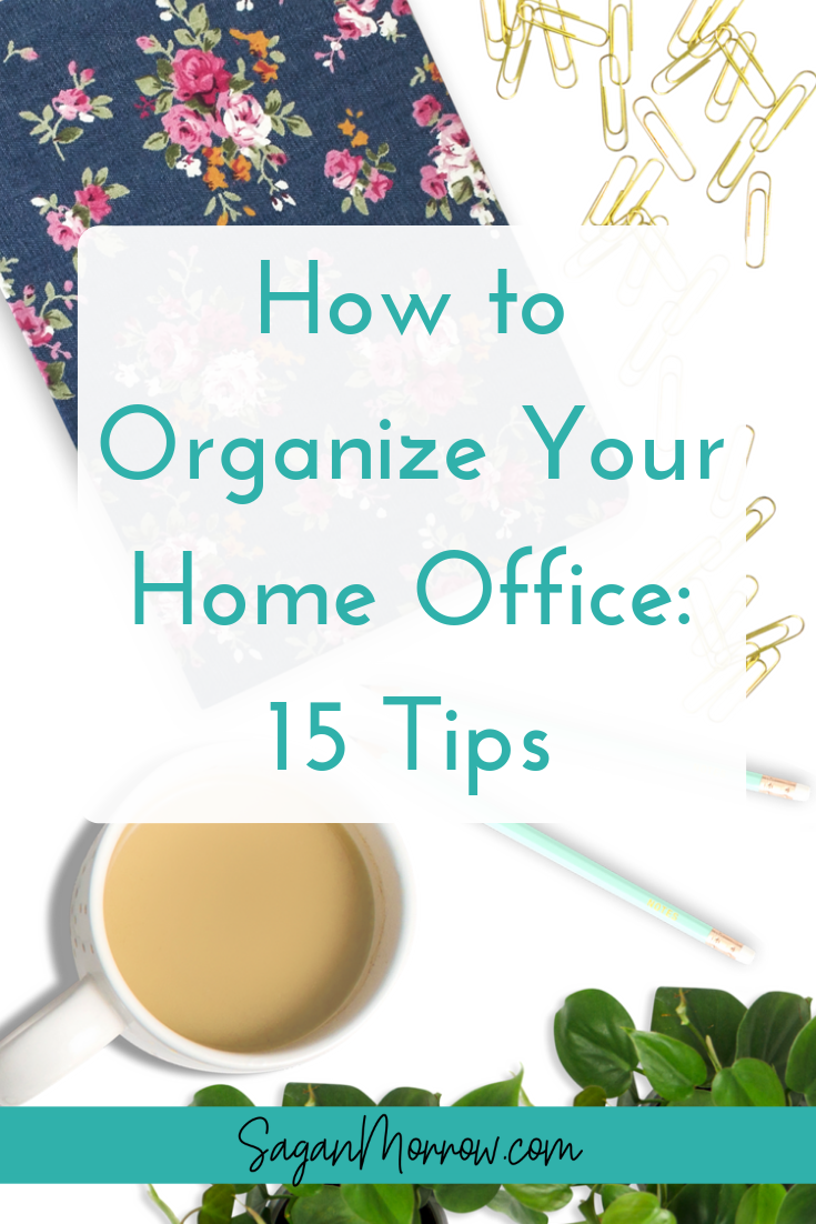 Wondering how to organize your home office? Ready to FINALLY get your home office back under control? This article shares 15 tips for how to organize your email inbox, filing cabinet, and general home office so you can be more productive than ever (and start loving the environment you work in!)...